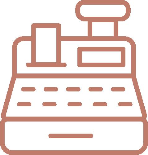 Kassensystem POS Icon