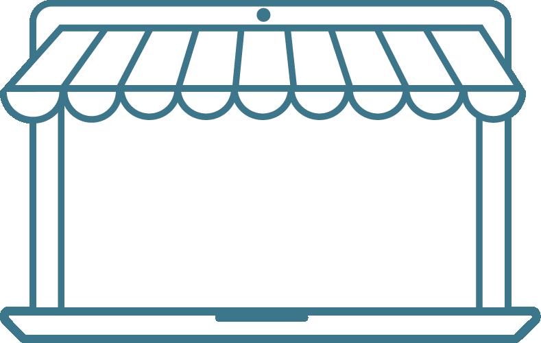 laptop mit online shop